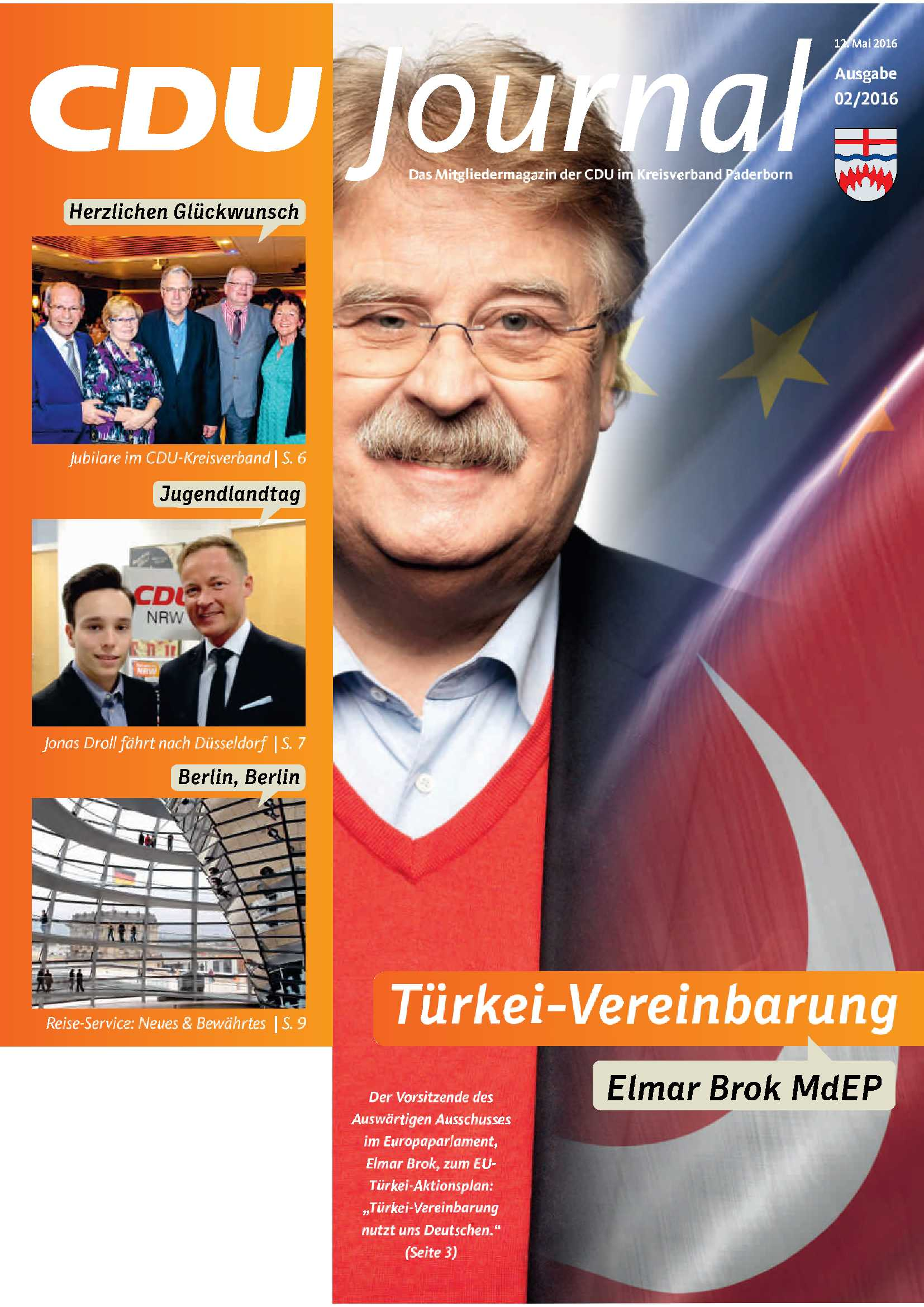 CDU Journal 02 2016 Cover