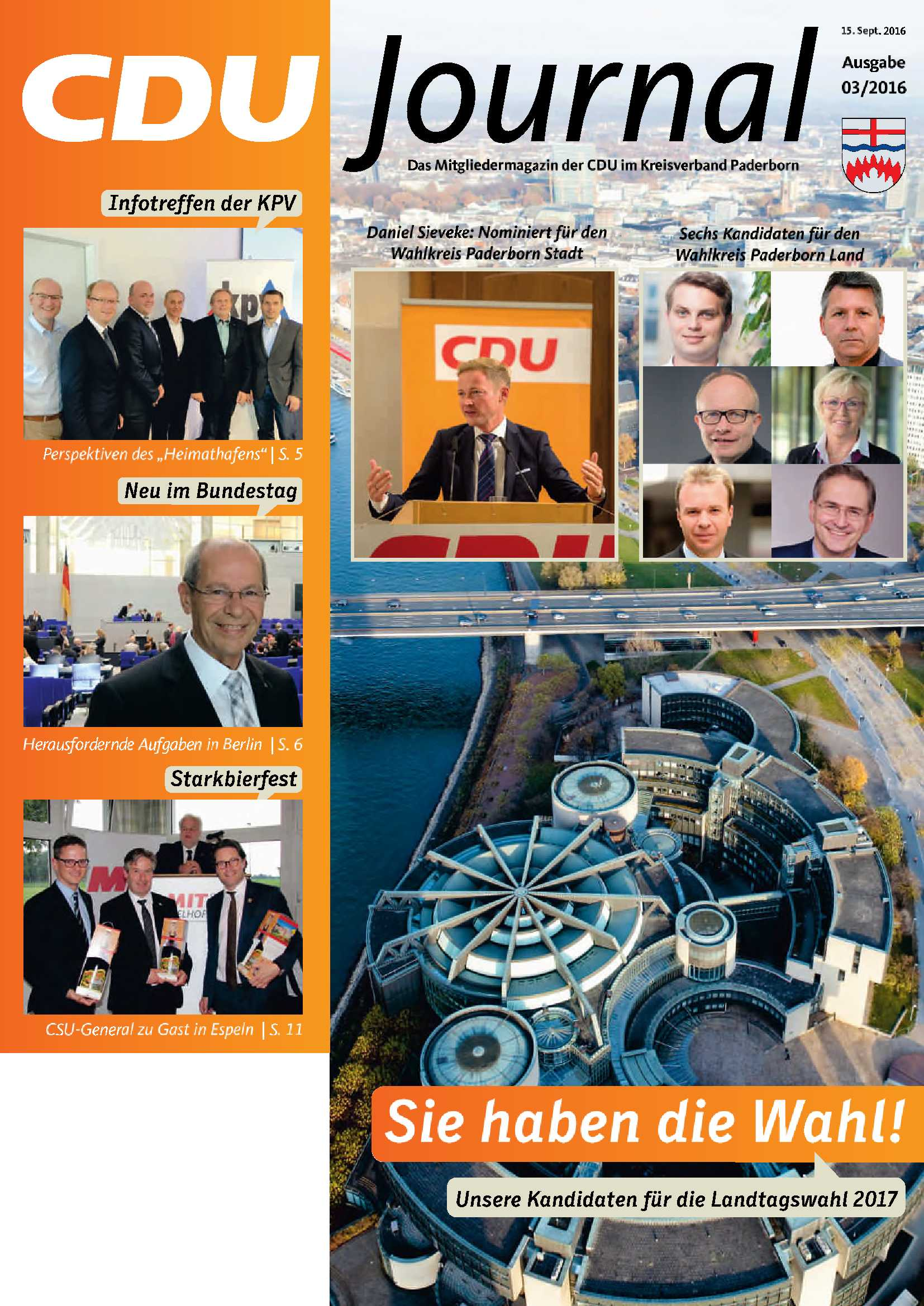 CDU Journal 03 2016 Cover